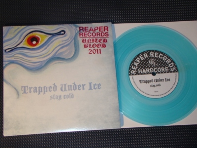 trapped under ice stay cold 7 inch limited edition united blood stamp vinyl