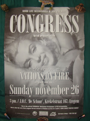 congress blackened persistance release show poster H8000 nations on fire Izegem