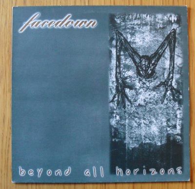 facedown beyond all horizon vinyl lp cover