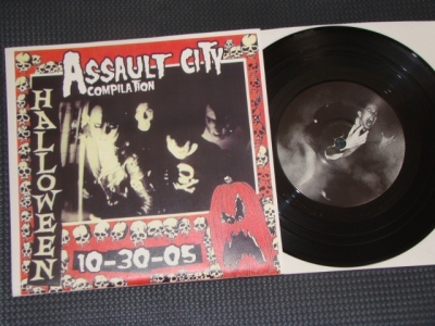 various artist assault city hardcore reaper records syracuse halloween cover