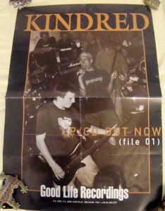 kindred file 01 one lp promotional poster