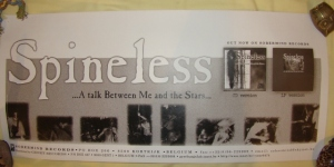 spineless a talk between me and the stars painfields promotional poster sober mind