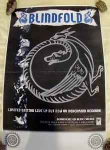 blindfold live at vortn vis lp promotional poster sober mind records