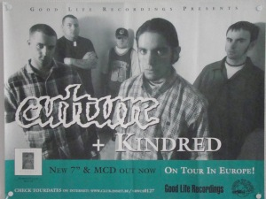 culture kindred good life recordings poster promotional