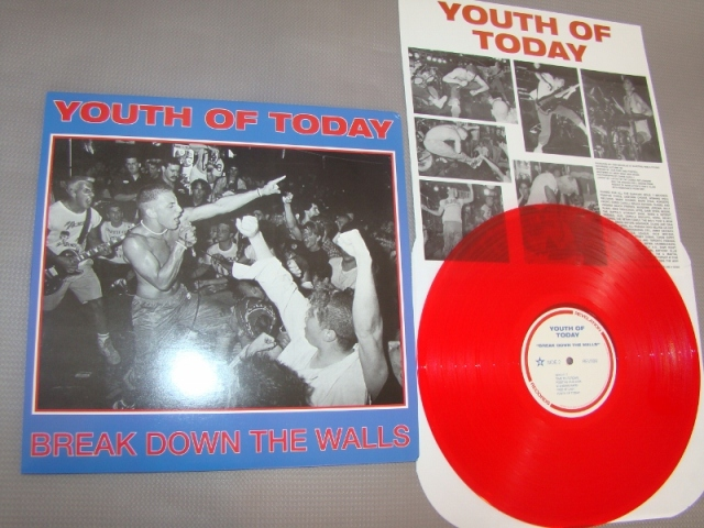youth of today break down the walls reissue lp red vinyl revelation records
