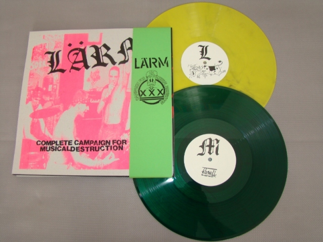 lärm complete campaign for musical destruction farewell record limited edition