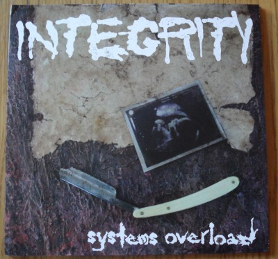 integrity systems overload reissue lp white vinyl organized crime records