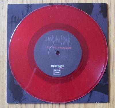 hangman's chair drawers split vinyl 7 inch record red