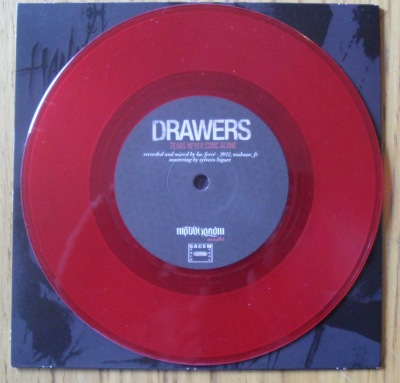 hangman's chair drawers split 7 inch vinyl red
