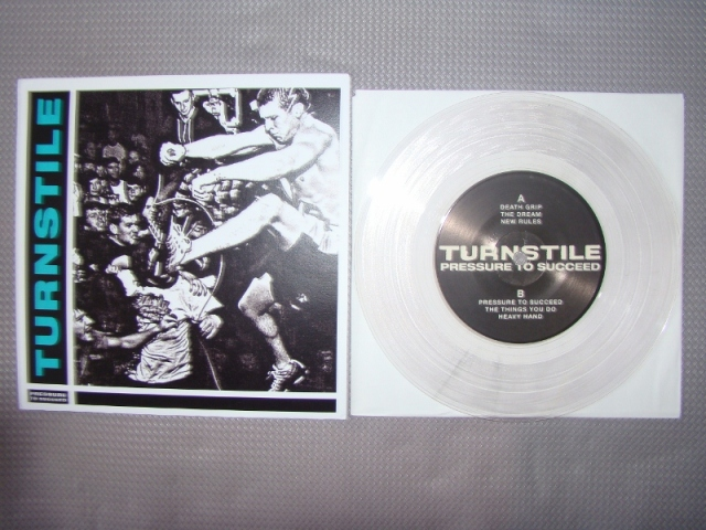 turnstile pressure to succeed pre order clear vinyl 7 inch reaper records