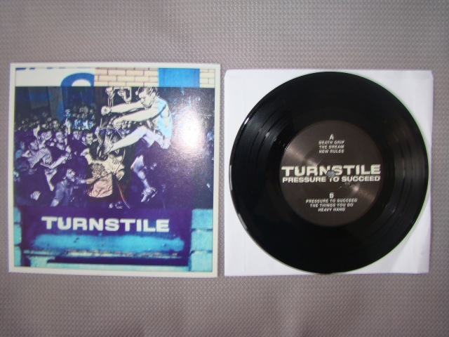 turnstile pressure to succeed black vinyl second press reaper records