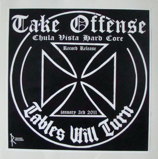 take offense tables will turn record release reaper records vinyl lp