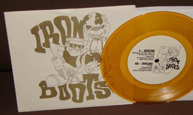 iron boots brain grenade demo 2004 vinyl gold 7 inch version
