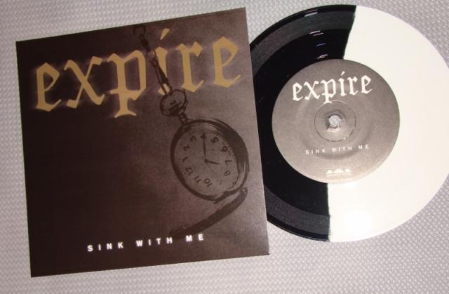 expire sink with me vinyl 7 inch wax split bridge nine 9