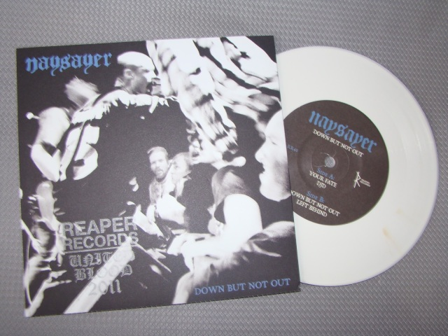 naysayer dbno down but not out united blood stamp record vinyl reaper