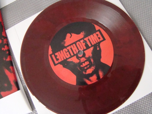 length of time bloodstained vinyl 7 inch limited