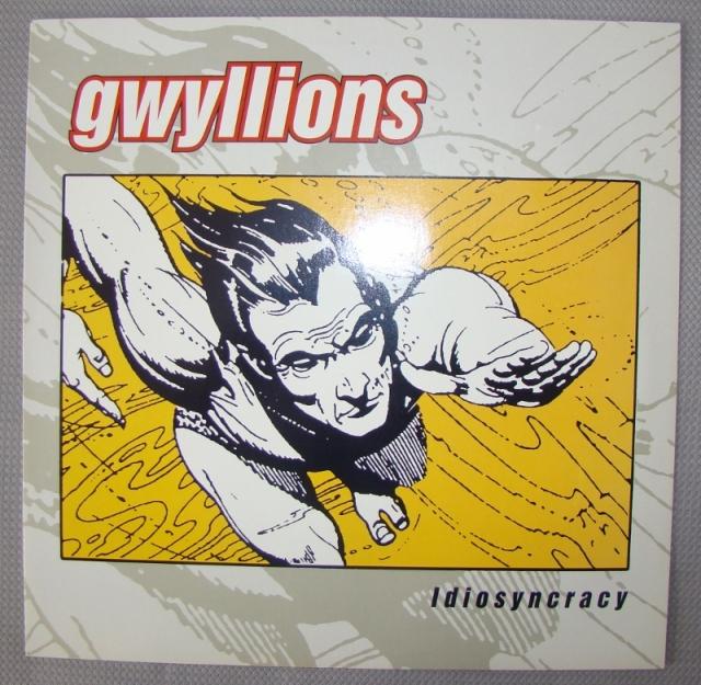 gwyllions idiosyncracy vinyl lp brown green leaf records