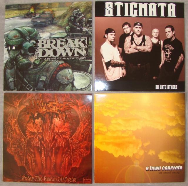 breakdown stigmata e-town concrete crawlspace final beatdown record good life sub label