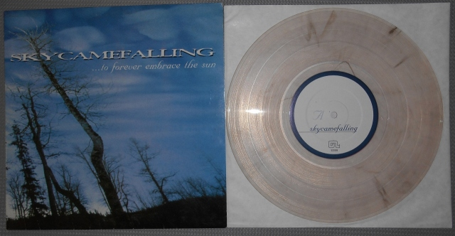 skycamefalling to forever embrace the sun 10 inch clear vinyl good life recordings