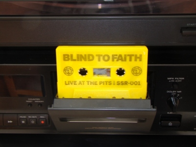 blind to faith live at the pits cassette tape soulslayer records