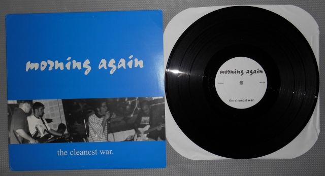 morning again the cleanest war lp conquer the world record vinyl
