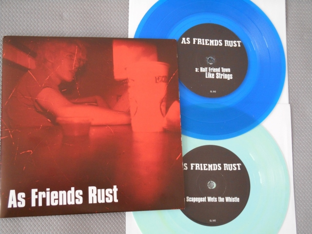 as friends rust double vinyl 7 inch good life recordings