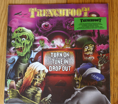 trenchfoot turn on tune in drop out vinyl lp reality record