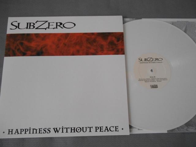 subzero happiness without peace vinyl lp dra demons run amok reissue white vinyl