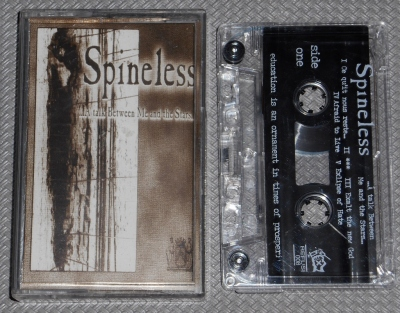 spineless a talk between me and the stars tape cassette sober mind refuse records