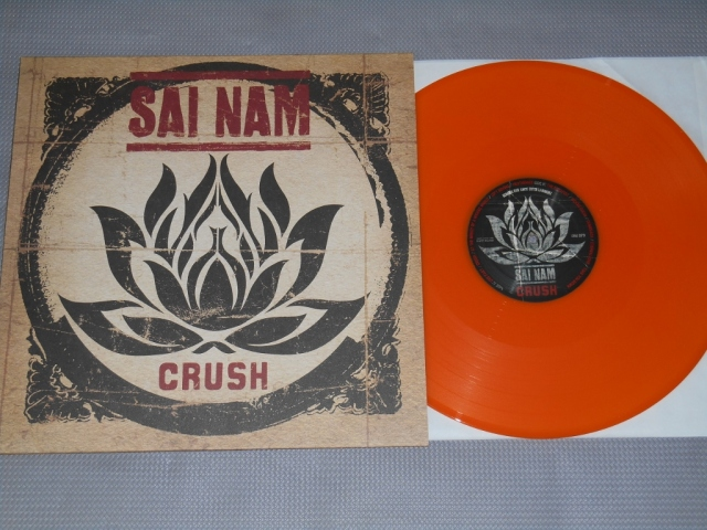 sai nam crush vinyl lp orange dra demons run amok license reaper records