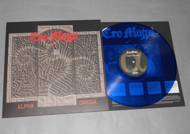 cro mags alpha omega LP blue vinyl dra demons run amok reissue