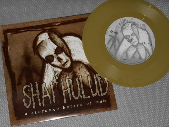 shai hulud a profound hatred of man vinyl reissue 7 inch crisis revelation record