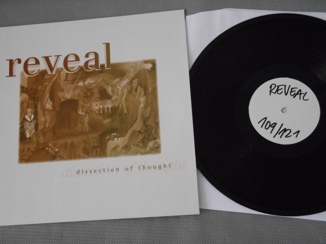 reveal dissection of thought vinyl lp test press good life recordings