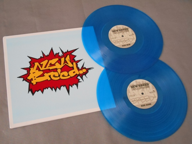 new breed compilation wild style vinyl lp blue wardance lush life nyhc