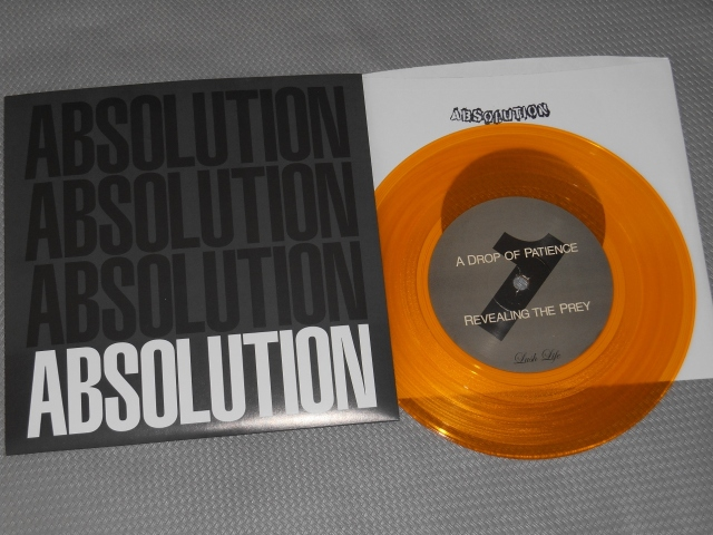 absolution gold vinyl 7 inch nyhc lush life