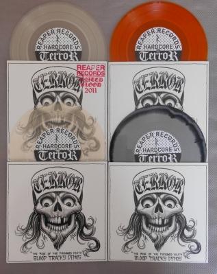 terror blood tracks demo 7 inch collection color reaper records