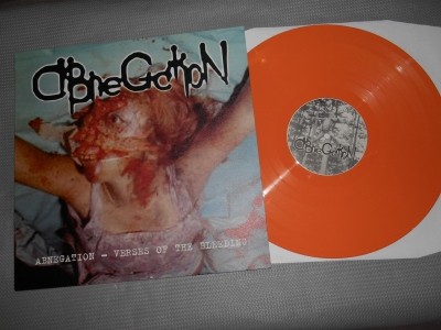 abnegation verses of the bleeding lp orange vinyl good life recordings