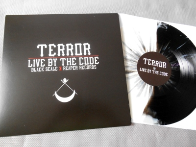 terror live by the code black scale press reaper record