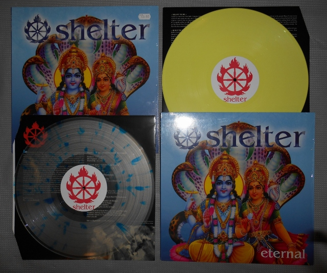 shelter eternal lp vinyl color good life reality record