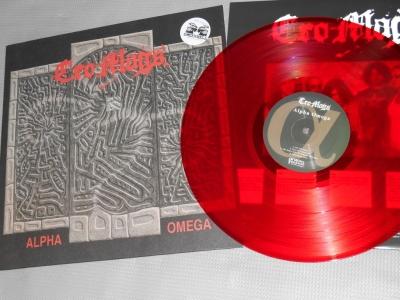 cro mags alpha omega reissue demons run amok dra nyhc red vinyl lp