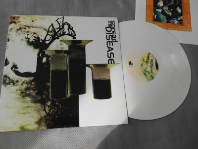 spread the disease lp vinyl white good life record