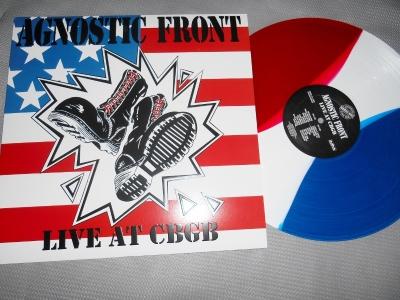 agnostic front live at cbgb vinyl lp nyhc bridge 9 records nine