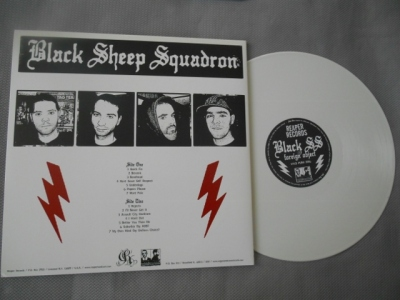 black sheep squadron bss foreing object lp white vinyl reaper records