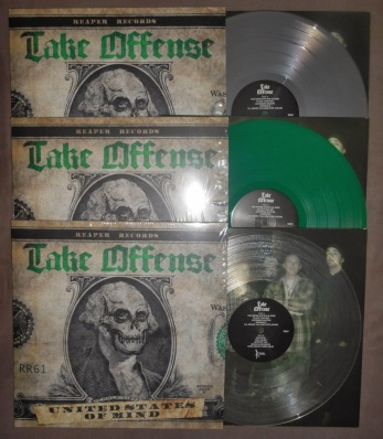 take offense place your bet LP vinyl reaper records
