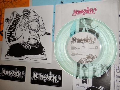 altercation 7 inch pre order clear vinyl lush life records nyhc
