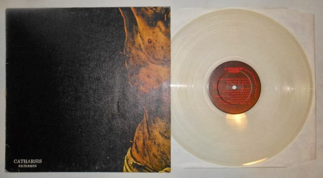 catharsis samsara vinyl lp clear good life recordings sxe