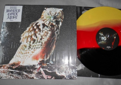 world collapse into the night lp color vinyl