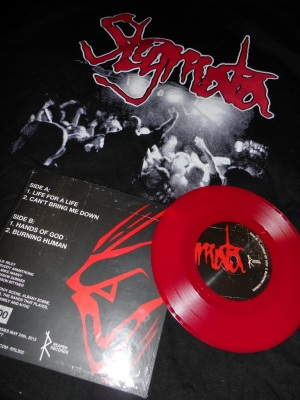 stigmata there is no mercy here vinyl 7 inch reaper records