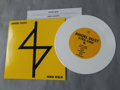 angel dust du$t extra raw 7 inch react! records vinyl