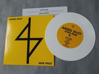 angel dust du$t extra raw 7 inch react! records vinyl